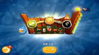 愤怒的小鸟2游戏【992】第七天每日挑战赛打开传奇宝箱,2300个羽毛飞镖黄升级