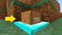 我的世界:教你住进游戏里最小的房子!方块中的世界模组