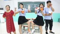 学霸王小九:老师根据学生吃的辣度决定分数,美女学霸直接吃了100分,太牛了