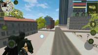 .自由城市机器人:变形金刚和坦克一起过来机器人怎么办
