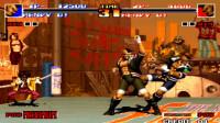 拳皇94:运动员队最强伤害表演秀,拳击大佬直接秒满血你信不信?