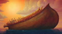 圣经中的诺亚方舟存在吗?有人拍到不规则区域,和它极为相似