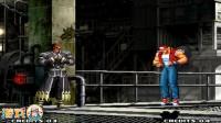 拳皇2000:大佬ZERO要表演一穿三,全程高能无伤碾压饿狼队3人组