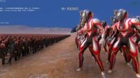 史诗战争模拟器:100个捷德奥特曼VS一万只丧尸,会怎样?
