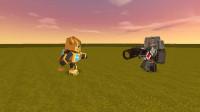 迷你世界:变形金刚打败僵尸王,获得国王的奖励,成为三大金仙!