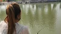 春季海竿钓鱼