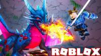 小格解说 Roblox地下城模拟器: 获得传奇装备! 探秘神秘龙与地下城! 乐高小游戏