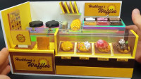 小锋玩具,DIY微型写实店-饼店装饰12