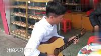 广东吉他高手,指弹大师改编的《光辉岁月》,真正高手