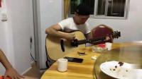 广东再现吉他高手,比魔术师还快的手法,真正的高手