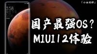「小白测评」国产最强?小米MIUI12前期体验 60Hz体验又如何?
