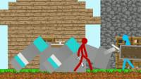 我的世界动画-如果火柴人玩MC-03