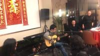 宴会现场的吉他表演,真是高手在民间!