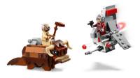 乐高(LEGO)积木:星球大战系列75265T-16跃空机VS班萨微型战机套装模型拼插
