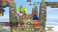 迷你世界:大表哥联手6大机甲,一起挑战神庙逃亡,发现终点错了