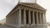 电脑复原两千多年前的古希腊宫殿,精致浮雕令现代人惊叹不已!