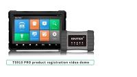 IDUTEX丨TS910 PRO 英文产品注册视频演示
