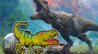 侏罗纪恐龙世界,超萌的皱褶龙简笔画,男宝宝最喜欢看了!