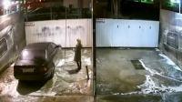 搞笑福利:监控:美国美女洗车,监控拍到的搞笑画面!-www.nbitc.com,慧之家