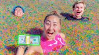 搞笑福利:美女发起水宝宝挑战,获胜者奖励10000美元,网友:好嗨哟!-www.nbitc.com,慧之家