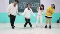 学霸王小九校园剧:学生挑战用膝盖投球,没想女同学一次就成功!真厉害