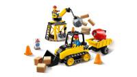 乐高(LEGO)积木:城市系列60252工程推土机套装模型拼插