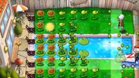 84 植物大战僵尸国际版第3-7关,植物轻松打败僵尸群