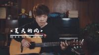 温岚《夏天的风》蓝莓吉他弹唱教学