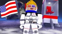 【Roblox飞船建造】打造太空堡垒! 太空漫游成为星际传奇! 小格解说 乐高小游戏