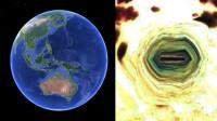 """男子声称发现""""外星人地下基地""""入口:约20米长 位于印尼无人岛"""
