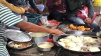 印度孟买华侨:油炸牛肉饼,不带点脚丫子味,都是不正宗的。