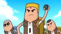 搞笑吃鸡动画:暴力可以解决一切!瓦特最强防具还是经不住手雷攻击