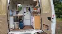 房车旅行,早餐自己在车里煮混沌,分享房车上的厕所为什么不封闭