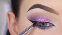 一款时尚漂亮的眼妆教程,看完之后你学会了吗?