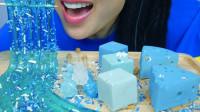 盘点最近超火的蓝色甜点,果冻、糖果、蛋糕穿上蓝衣,真是梦幻十足