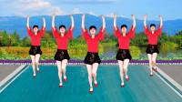 12步广场舞《碎心石》演唱:谢军,唱出一个男人的痴情,流行踩点舞
