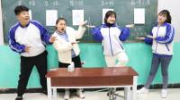 学霸王小九校园剧:梦想2:吕毛豆梦想成为画家,没想王小九说她的画像心电图!真逗