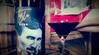 有播飞飞塞尔维亚TESLA CODE 特斯拉密码干红葡萄酒代言