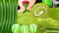 夏季最适合吃的甜点,颜色碧绿清新脱俗,抹茶控们的最爱