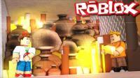 【Roblox货币大亨】金币工厂造就华尔街之狼! 金库黄金大劫案! 小格解说 乐高小游戏