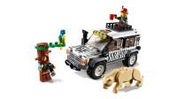 乐高(LEGO)积木:城市系列60267狩猎越野车套装模型拼插