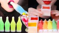 盘点近来比较火的网红零食,进口蜡瓶糖果,自制的造型太有创意了