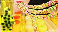 小姐姐自制创意果冻,乐高积木、甜甜圈和面条造型,比买的看颜值还高