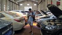 广州一场暴雨过后,车贩子排队收泡水车,转手就能赚几十万!