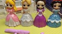 四位公主在唱歌,唱得是下山 ,小朋友喜欢唱什么歌呀!