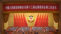 全国政协十三届三次会议闭幕会 全国政协主席汪洋发表讲话