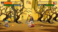 迷你世界格斗动画第472集:野人丝血躺在地上被年兽的鞭炮炸死!