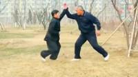 真正会武术的打架原来是这样的,螳螂拳实战对练!