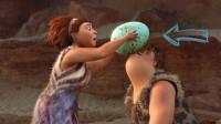 原始人吃个早餐就是一场战斗,去野外抢回一个蛋,却不够一家人吃