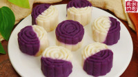 低卡低脂,健脾养胃的紫薯山药糕,软糯清甜,超级好吃!